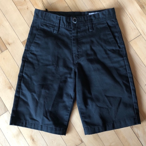 Volcom Boys Shorts Size 24 Black